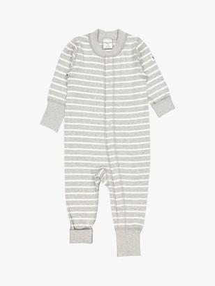 Polarn O. Pyret Baby GOTS Organic Cotton Stripe Sleepsuit