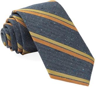 Tie Bar Ridgemont Stripe Navy Tie