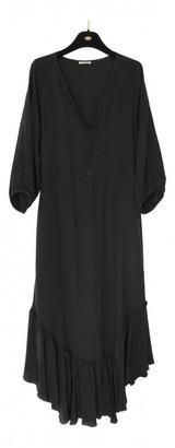 Vilshenko Black Silk Dress for Women