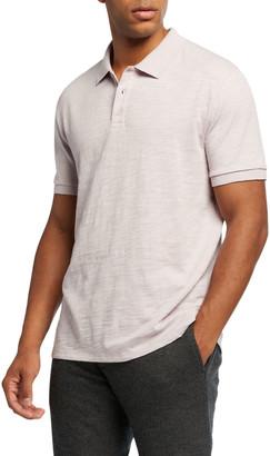 Vince Men's Classic Jersey Polo Shirt