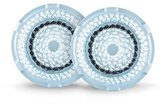 clarisonic Delicate Facial Cleansing Brush Head Replacement, Two Pack