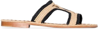 Carrie Forbes Moha two-tone sandals