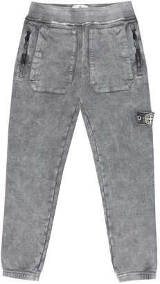 Stone Island Junior Cotton jersey trackpants