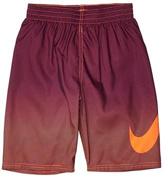 Nike Kids 8 Atmosphere Swoosh Volley Shorts (Little Kids/Big Kids) (Total Orange) Boy's Swimwear