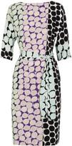 Diane von Furstenberg Maja printed silk-crepe dress