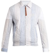 Loewe Striped Cotton Jacket