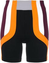 NO KA 'OI No Ka' Oi panelled tight sport shorts
