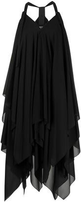 Issey Miyake Halterneck Draped Dress