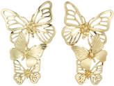 Stella & Ruby Tiered Butterfly Earrings