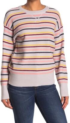 Velvet Heart Wilder Striped Long Sleeve Pullover