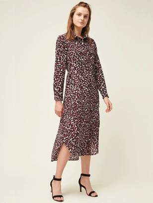 Great Plains Cara Dress In Cabernet - 8