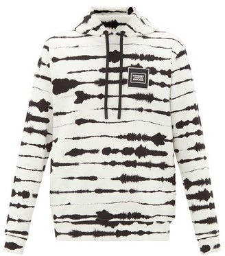 Burberry Striped Cotton Hooded Sweatshirt - Multi