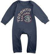Enlove Toronto Raptors BABY Cartoon Long Sleeves Baby Onesies Bodysuit For Little Baby