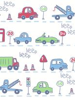 Beep Beep Cars Wallpaper
