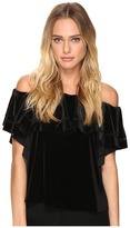 Rachel Zoe Gaia Off the Shoulder Top Women's Short Sleeve Pullover