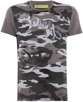 Versace Jeans Tiger Camoflage Crew Neck T-shirt