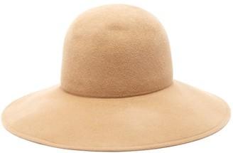 Lola Hats Biba Wide-brimmed Felt Hat - Womens - Camel