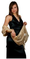 Ossa Fashion 2 TONE SHIMMER ORGANZA BRIDESMAID BRIDAL WEDDING WRAP EVENING PROM SHAWL SHRUG STOLE