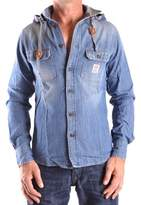 Franklin & Marshall Men's Blue Cotton Shirt.
