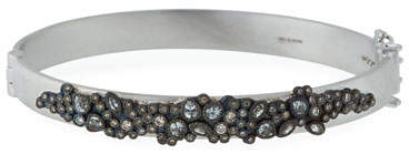 Armenta New World Diamond & White Sapphire Cluster Bracelet