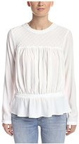Bishop + Young Women's Cinched Waist Blouse