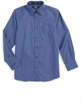 Nordstrom Boy's Patriot Cotton Poplin Dress Shirt