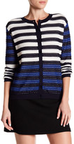 Canvas by Lands' End Canvas by Lands& End Textured Stripe Cardigan
