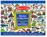 Melissa & Doug NEW Sticker Collection Blue