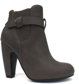 Dollhouse Taupe Tricked Bootie