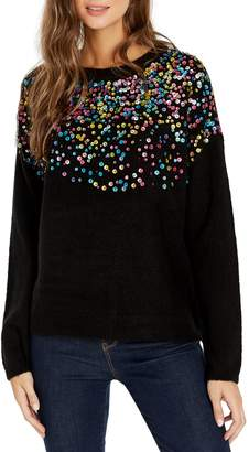 Buffalo David Bitton Juniper Sequined Sweater