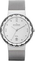 Skagen skw2004 34.5mm Steel Bracelet & Case Mineral Women's Watch