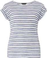 Blue textured stripe Tee