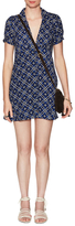 Free People Melody Print Keyhole Mini Dress