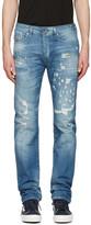 Diesel Blue Buster Destryoed Jeans