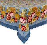 Couleur Nature Tutti Frutti Tablecloth - Blue