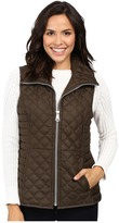 """Andrew Marc Arielle 25"""" Polyfill Quilt Vest"""