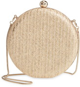 Nordstrom Straw Circle Clutch