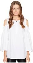 Escada Sport Nahiti Cut Out Sleeve Top Women's Clothing