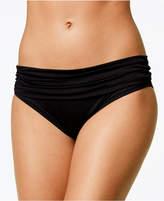 LaBlanca La Blanca Shirred Banded Hipster Bikini Bottoms
