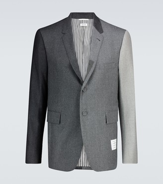 Thom Browne Fun-Mix wool flannel blazer