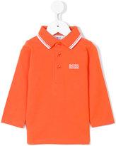 Boss Kids long sleeve polo shirt