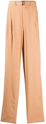 Lemaire Wide Leg Tailored Trousers
