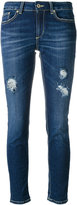 Dondup distressed skinny jeans - women - Cotton/Spandex/Elastane - 25