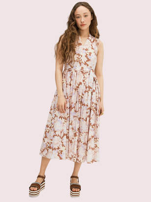 Kate Spade Exotic Bloom Burnout Dress