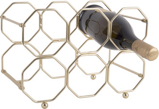 Posh Totty Designs - Gold Honeycomb Wine Rack