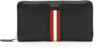 Bally Telen Zip Around Wallet