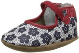 Robeez Blooming Bella Mary Jane Crib Shoe (Infant)