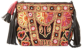 Antik Batik Mysor Embroidered Cotton Mini Crossbody