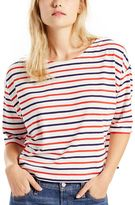 Levi's Women's Striped Boatneck Top