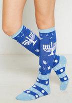 Sock it to Me, Inc. A Menorah on a Mission Socks